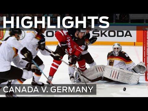 Kanada pokonuje Niemców 10-0 na MŚ