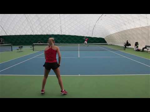 Megan Forster College Tennis Recruiting Video Fall 2018