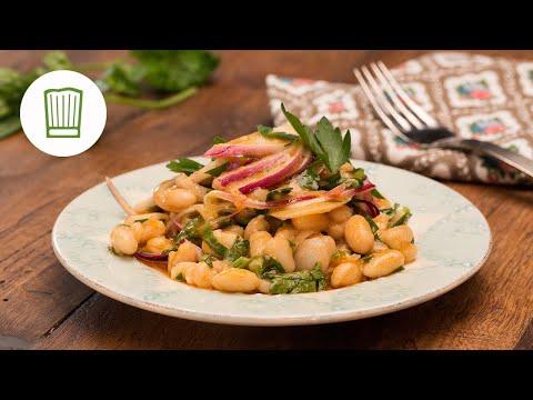 Piyaz – türkischer weiße-Bohnen-Salat   Chefkoch