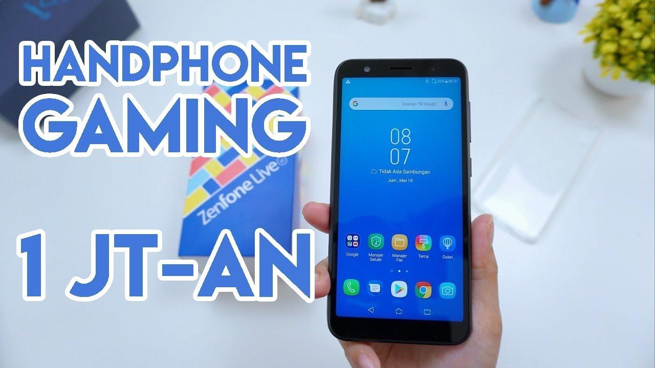 Asus Zenfone Live L1 Handphone Gaming Murah Banget Youtube