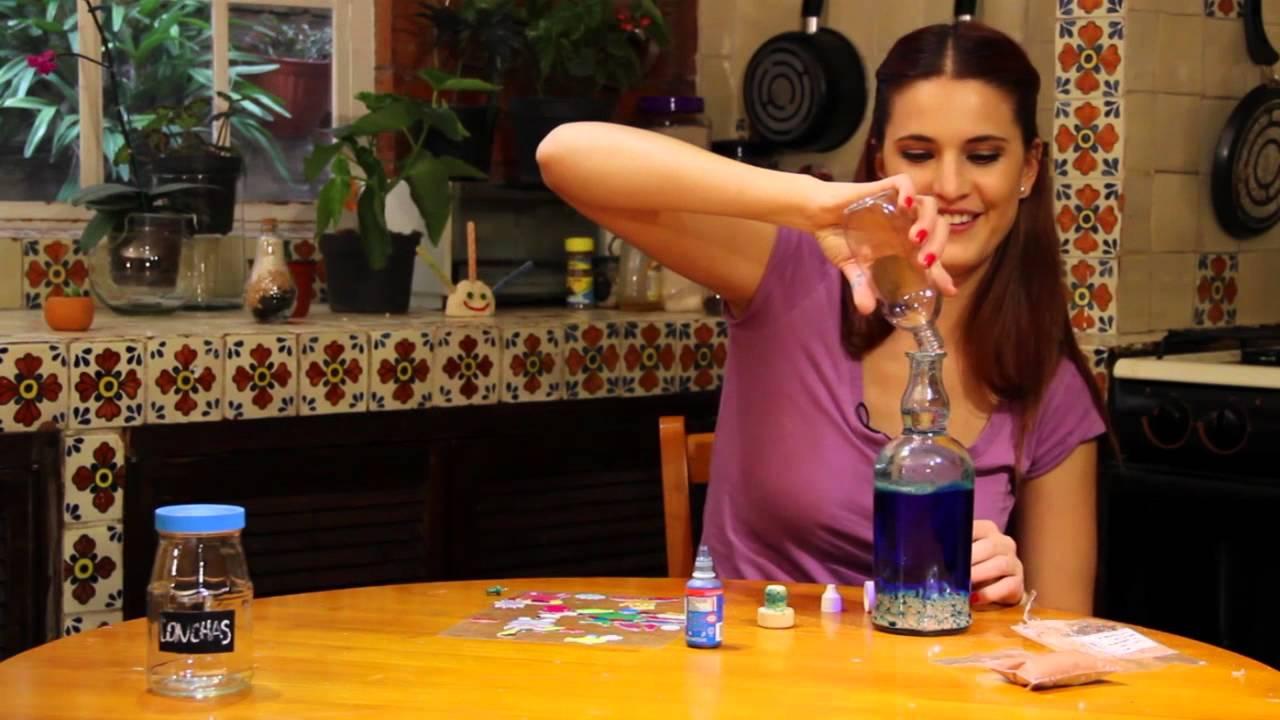 Mar en botella youtube - Como pegar corchos de botellas ...