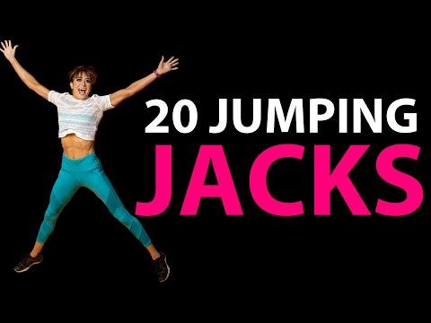 20 Jumping Jack Variations