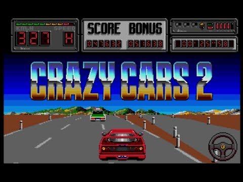 Crazy Cars 2 - Atari ST (1989)