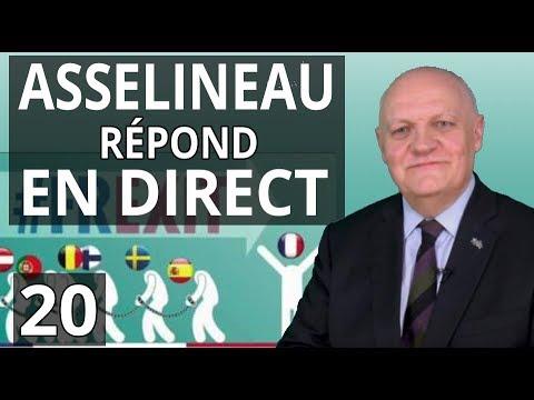 François Asselineau répond aux questions des internautes sur YouTube - 24/01/2018