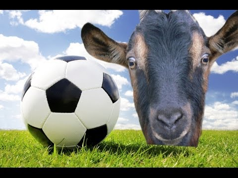Aicha joue au foot goat simulator youtube - Fille joue au foot ...