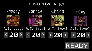 Five Nights at Freddys 20 20 20 20 Mode Android