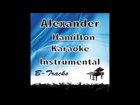 Alexander Hamilton karaoke instrumental