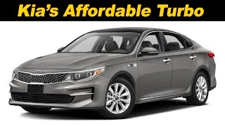 2016 / 2017 Kia Optima LX Turbo Eco Review and Road Test  | DETAILED in 4K UHD!