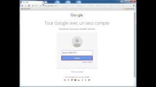 Cours N° 2 : Se connecter au compte Gmail