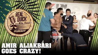 Amir Aliakbari & Tyler King in huge scuffle at RIZIN GP 2017 Weigh-ins