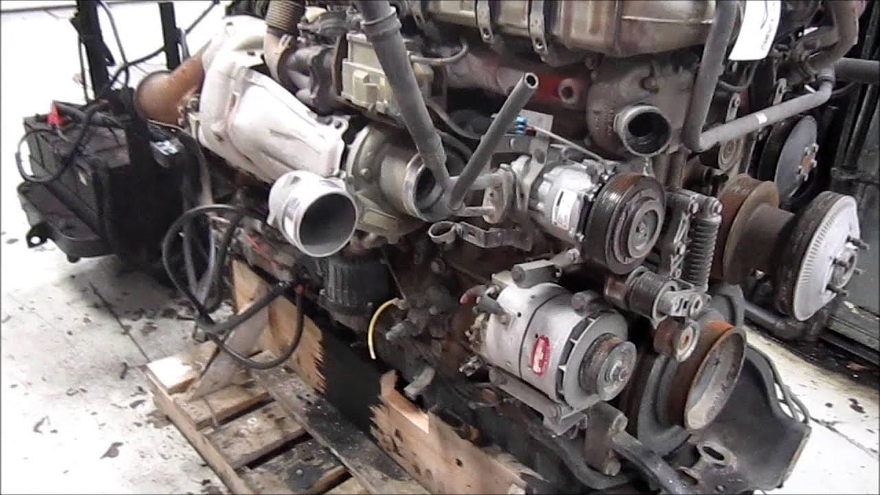 2009 Detroit Diesel DD15 Diesel Engine Running