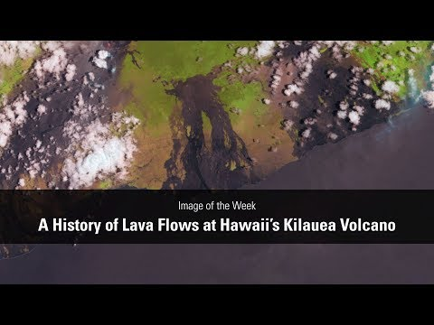 Image of the Week - Hawaii's Lava Flow