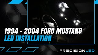 Ford Mustang LED Interior How To Install - 4th Gen | 1994-2004