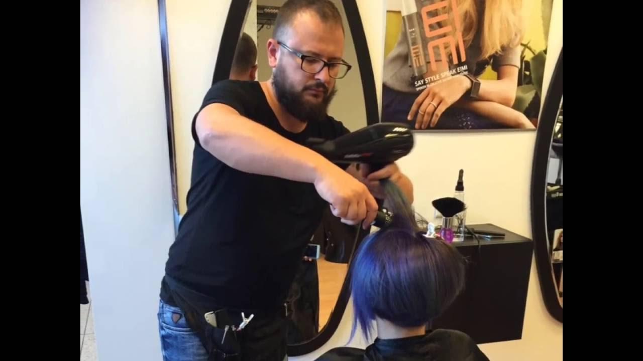 Taglio capelli alla bob