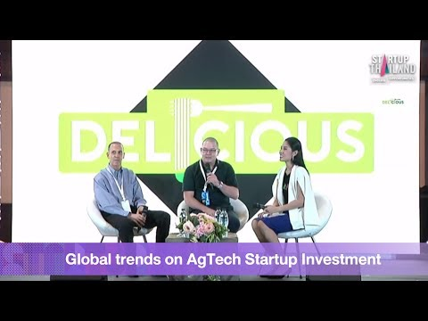 Global trends on Agtech Startup Investment