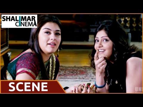 Denikaina Ready Telugu Movie    Manchu Vishnu , Hansika Love Scene    Manchu Vishnu , Hansika