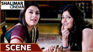 Denikaina Ready Telugu Movie || Manchu Vishnu , Hansika Love Scene || Manchu Vishnu , Hansika