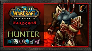 🏆Classic WoW: 1-20 Orc Hunter HARDCORE Speedrun, (DEATH=DELETE) Rogue did not die