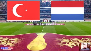 PES 2021 Turkey vs Netherlands FIFA World Cup 2022 Qualification EUROPA Full Match All Goals