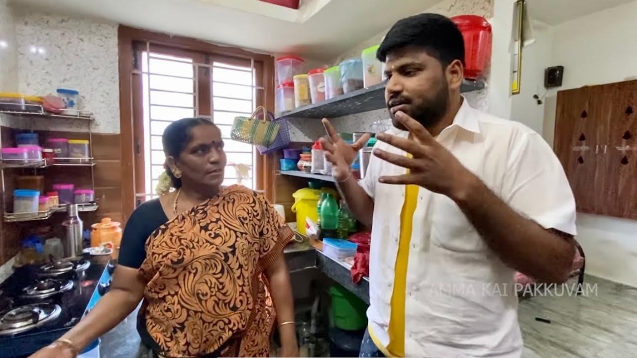 இவ்வளவு கலாட்டாவுடன் அம்மாவும் தம்பியும் செய்த Badusha Sweet Recipe 😋 || Amma Kai Pakkuvam