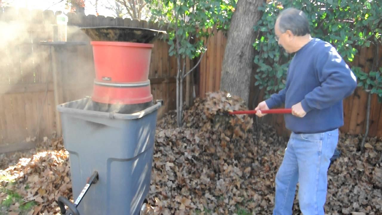 leaf mulcher home made youtube - Home Shredders
