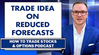 Reduced Forecast Fan Fears Wall Street Journal Trade Idea: How to Trade Stocks and Options Podcast