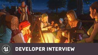Dragon Quest XI by Square Enix | E3 2018 Developer Interview | Unreal Engine