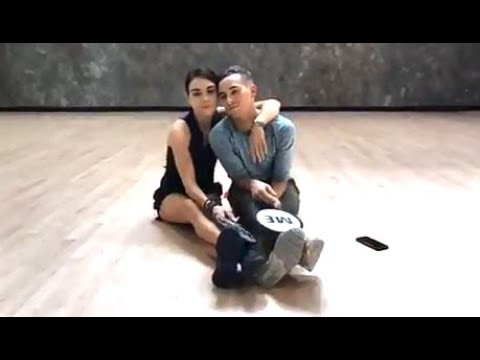 Adam Rippon & Jenna Johnson Play Him Or Her (DWTS FB Replay)