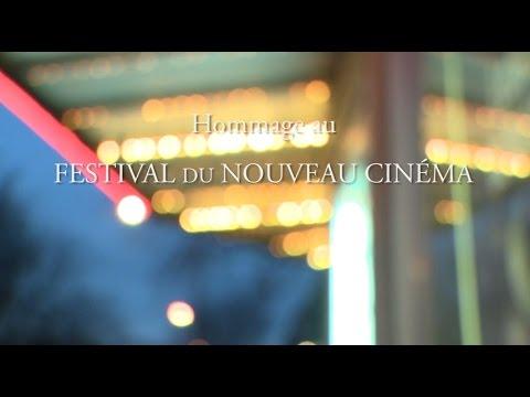 Hommage au Festival du nouveau cinéma