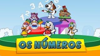 A música dos números (contando de 1 a 10) - Patinho Tuga