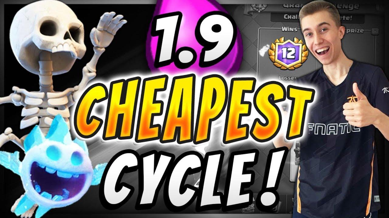 Sirtagcr 1 9 Elixir Fastest Cycle Deck In Clash Royale Royaleapi