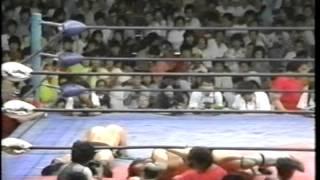 【プロレス】1983 8 31 ブルーザー・ブロディ vs ジャンボ鶴田 インターナショナルヘビー級選手権 蔵前国技館