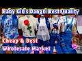 Fancy Party Wear Kids Girls Wear Wholesale Market, Awesome Veriety