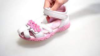 видео Детские сандали для девочек