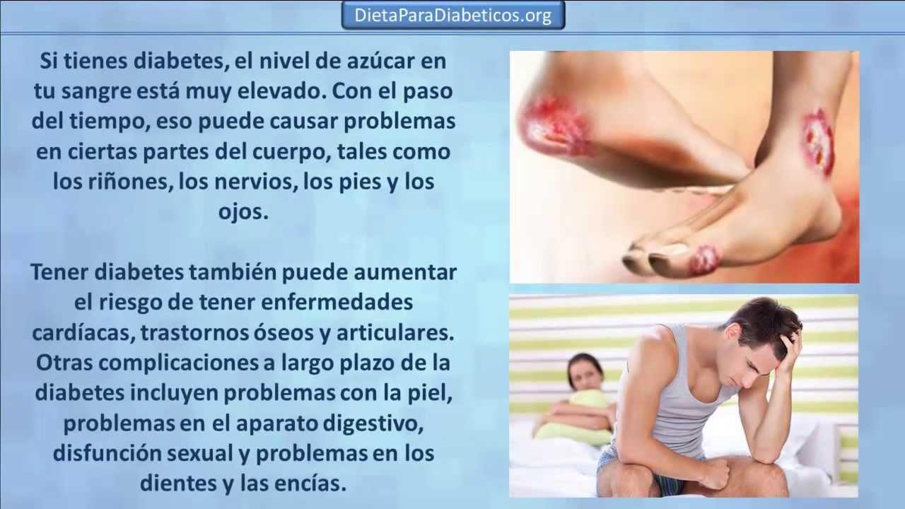 Complicaciones de la diabetes mellitus, Consecuencias de