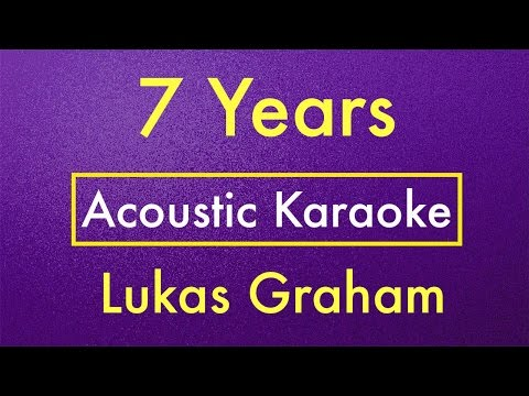 7 Years - Lukas Graham | Karaoke Lyrics (Acoustic Guitar Karaoke) Instrumental
