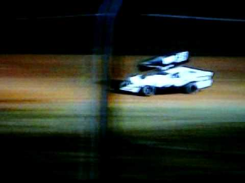 #28 David Forbis at Ark-La-Tex Speedway April 11, 2009