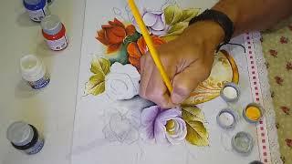 Roberto Ferreira – Aprenda a pintar Rosas