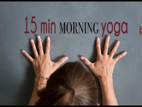 15 Minute Morning Yoga to Wake Up