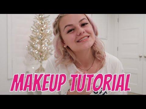 My Everyday Makeup | Basic Makeup look | Kesley Jade LeRoy