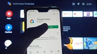 Google Home screen mirroring A…