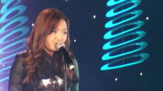 "Charice sings ""Note to God"" - HD (with lyrics) -at Sears Centre Arena"