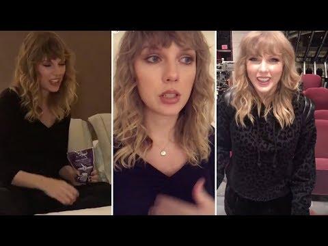 Taylor Swift | Snapchat Videos | November 10th 2017