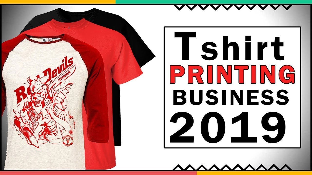 How To Start A Tshirt Printing Business