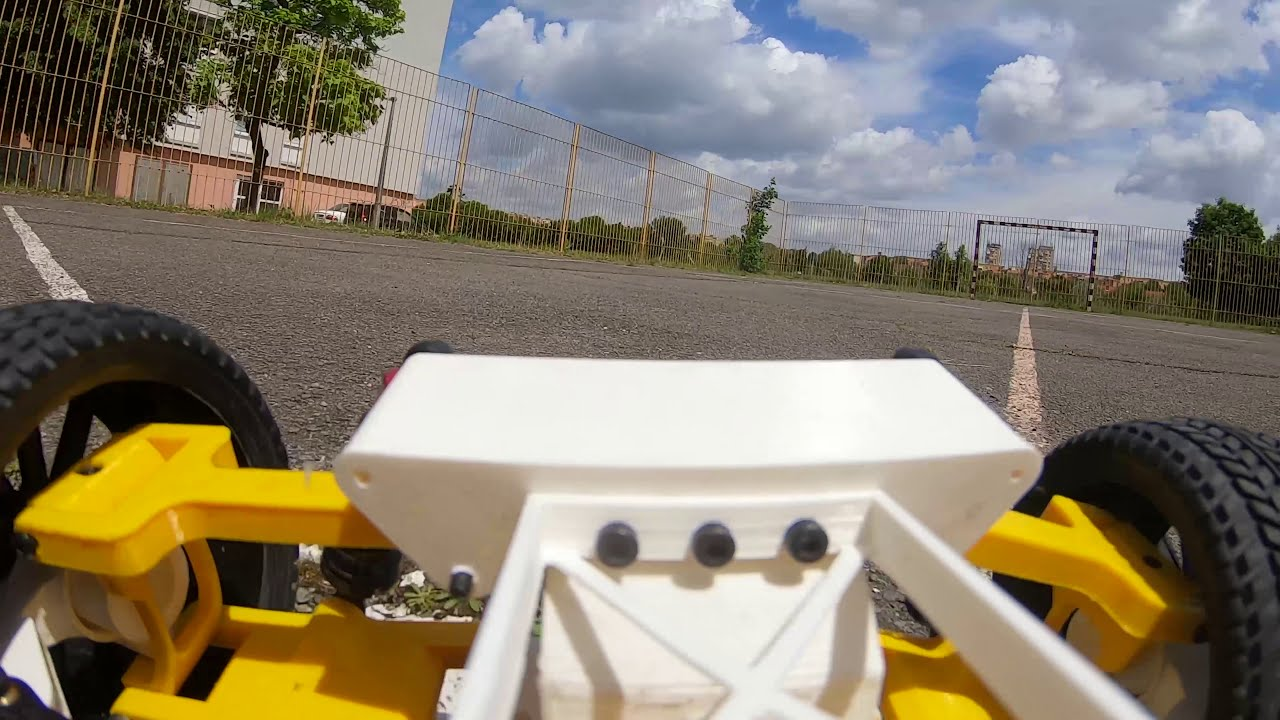 3d printed rc car - Tarmo 4 first test. Onboard FPV Video. картинки