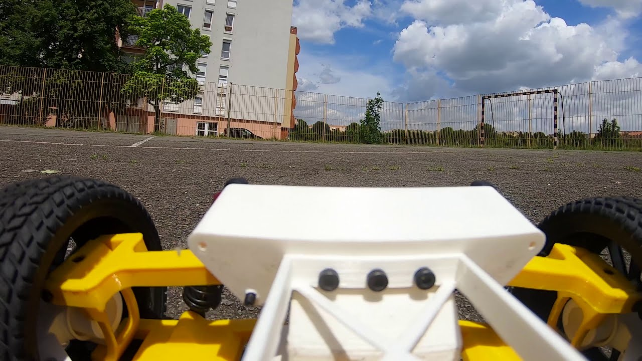 3d printed rc car - Tarmo 4 first test. Onboard FPV Video. фото