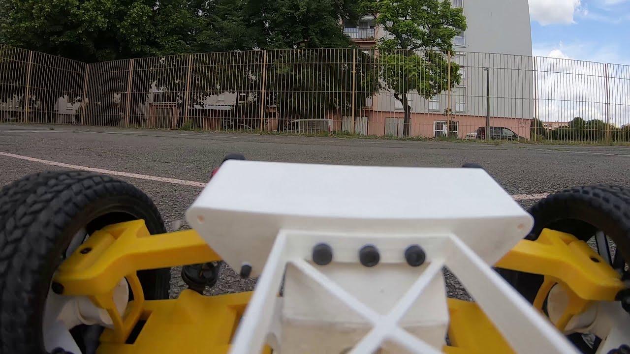 3d printed rc car - Tarmo 4 first test. Onboard FPV Video. фотки