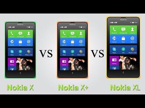 Nokia X vs Nokia X+ vs Nokia XL - Full Comparison