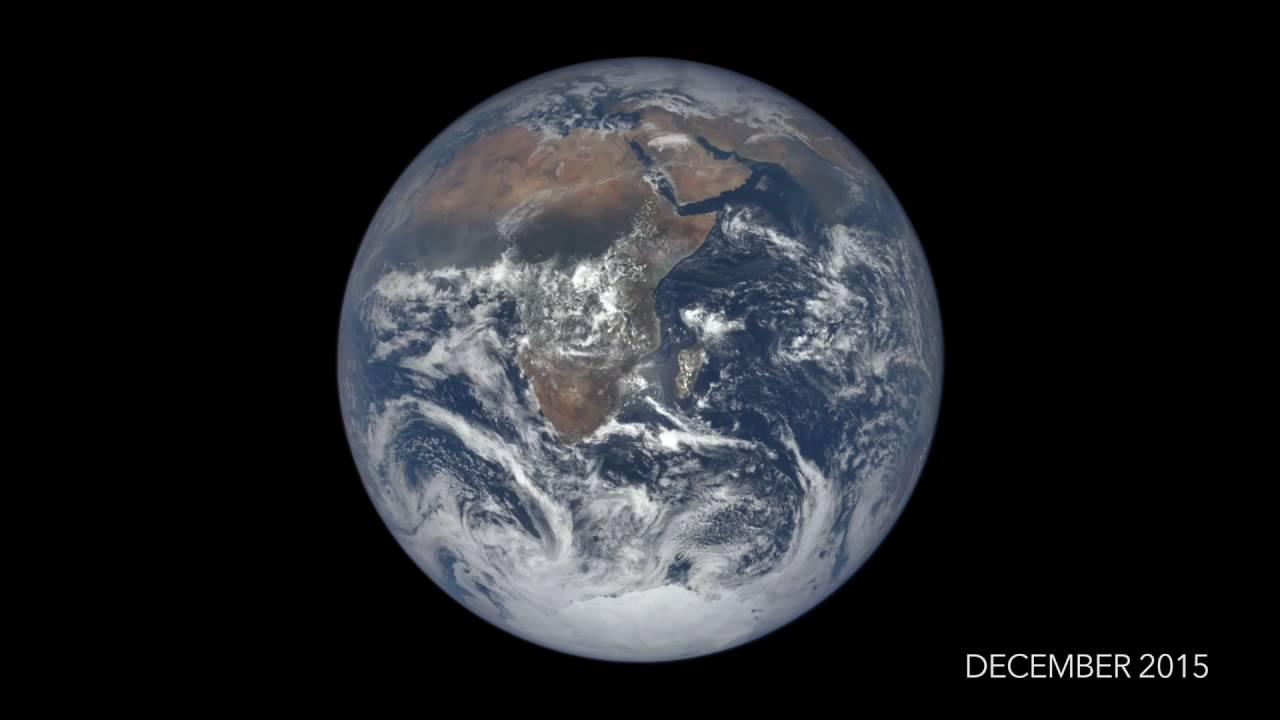 la terre vue depuis l 39 espace pendant un an youtube. Black Bedroom Furniture Sets. Home Design Ideas