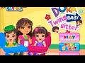 Dora Twins Baby Sitter Online Game – Baby Girl Games